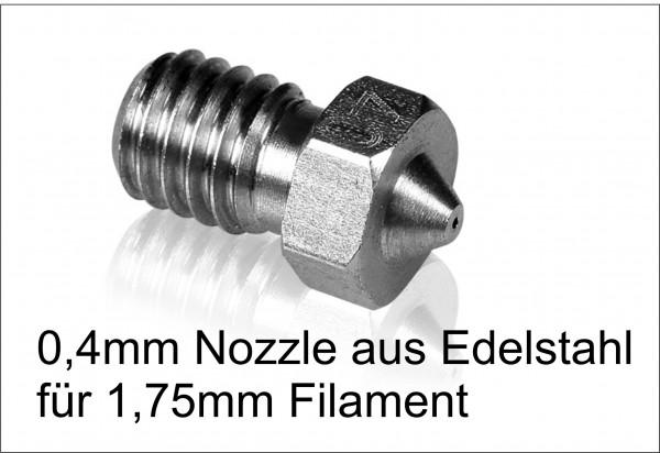 Nozzle Hotenddüse aus Edelstahl