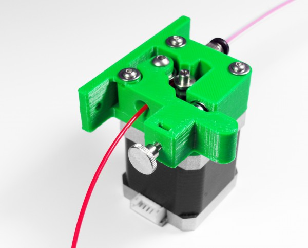 bernis magnetic bowden extruder pure green