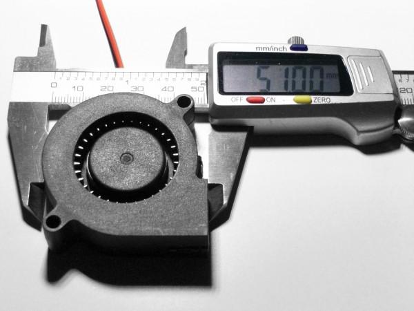 Starker Radial Lüfter Hotend RepRap 3d Drucker 50mm
