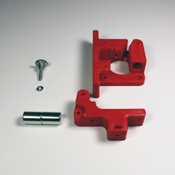 UPDATE Bernis Magnetic FLEXAR Extruder PURE RED