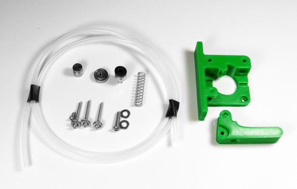 bernis simple bowden extruder pure green